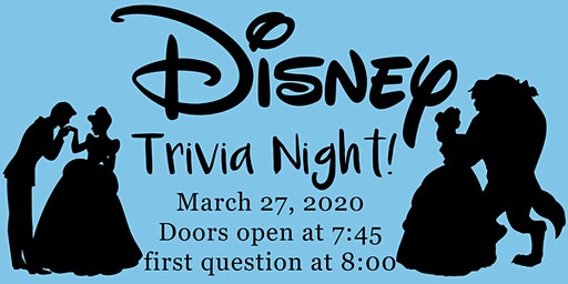 8pm Disney Trivia at the Winery