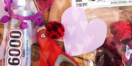 DIY Valentines & Shuffleboard Happy Hour tickets