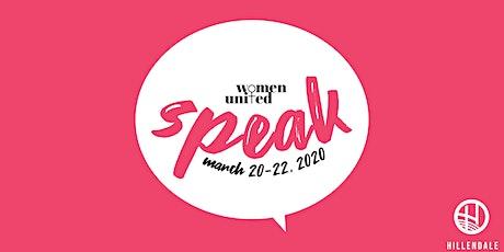 Women United: SPEAK tickets