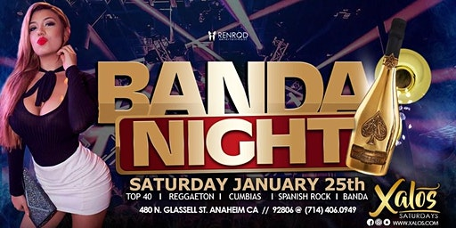 Banda Night Saturday at Xalos
