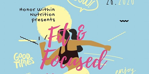 Fit & Focused Pop Up Workout
