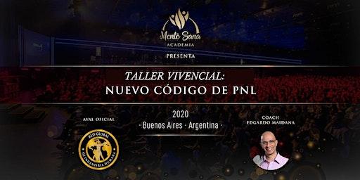 TALLER VIVENCIAL NUEVO CÓDIGO DE PNL