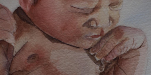 Mothers Paint Your Baby In Watercolour