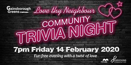 Love thy Neighbour - Community Trivia Night Pimpama tickets