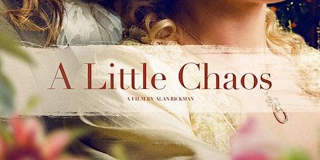 Film Club: A Little Chaos tickets