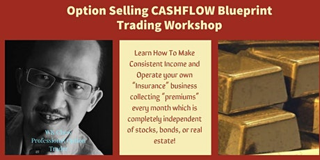 """Option Selling CASHFLOW"" Secrets Unlocked tickets"