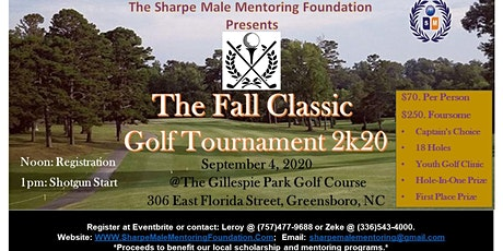 "The ""Fall Classic"" Charity Golf Tournament 2k20 tickets"