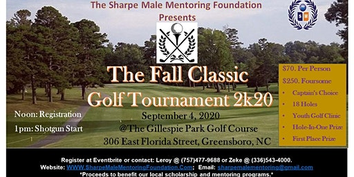 "The ""Fall Classic"" Charity Golf Tournament 2k20"