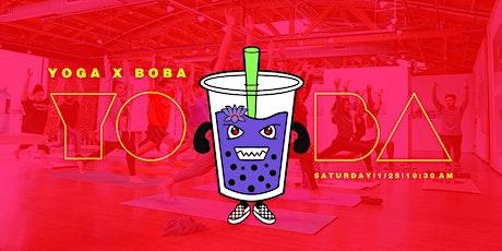 YOBA (Yoga + Boba) tickets