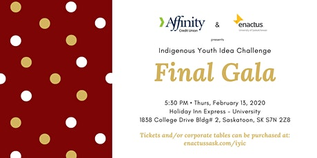 Indigenous Youth Idea Challenge - Final Gala tickets
