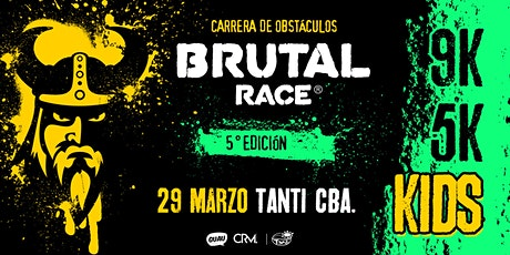 Brutal Race  OCR 2020 - 5ta Edicion - Tanti - Córdoba entradas