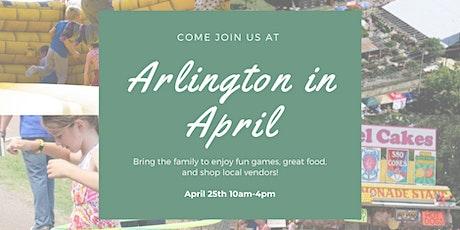 Arlington in April tickets
