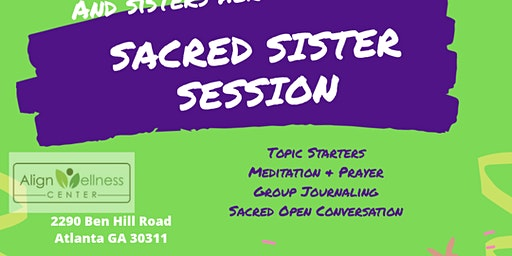 Sacred Sister Session