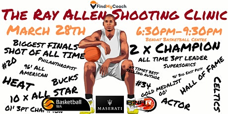 The Ray Allen Shooting Clinic - Perth tickets
