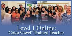 Level 1: Color Vowel® Basics with Blue Canoe® Training...