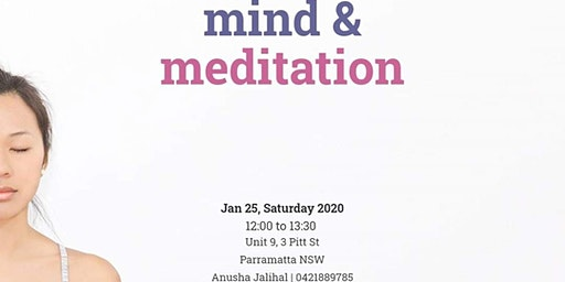 Free Workshop on Mind & Meditation