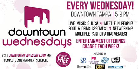 Downtown Wednesdays - Tampa tickets