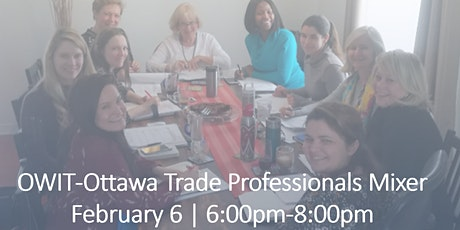 OWIT-Ottawa Trade Professionals Mixer tickets