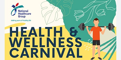 NHG Health & Wellness Carnival tickets