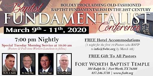 2020 Baptist Fundamentalist Conference