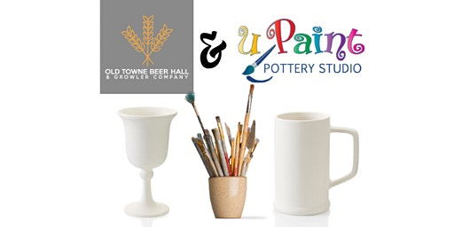 uPaint Pottery & Old Towne Beer Hall Painting Event
