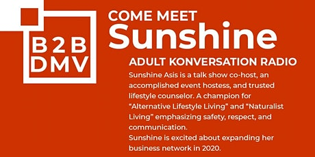 """""""Women in Business Mixer"""" by DC Life Magazine featuring Sunshine Asis tickets"""