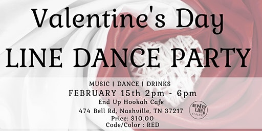 Valentine's Line Dance Party