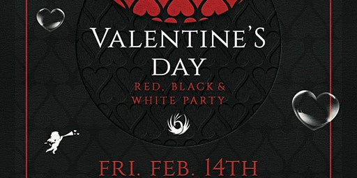 Valentine's Day Red, Black & White Party - A Singles Event for 20's & 30's
