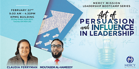 Mercy Mission Leadership Bootcamp Series: Art of Persuasion and Influence in Leadership tickets
