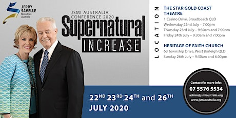 JSMI Australia Conference 2020  - Supernatural Increase tickets