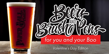 Beers and Brush Pens with your Boo tickets
