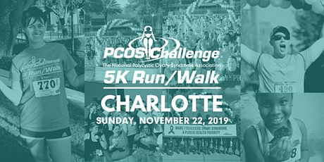 PCOS Walk 2020 - Charlotte PCOS Challenge 5K Run/Walk tickets
