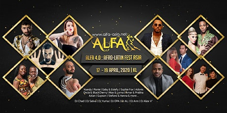 ALFA 2O2O : Afro-Latin Fest Asia (4th Edition) tickets