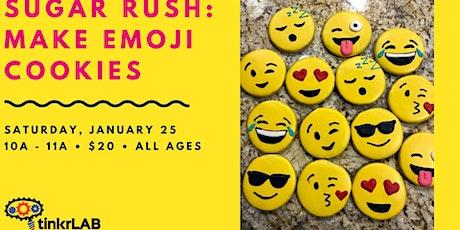 Sugar Rush: Make Emoji Cookies tickets