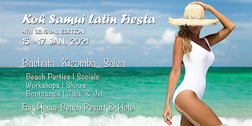 KSLF 2021 : Koh Samui Latin Fiesta (4th Sensual Edition)