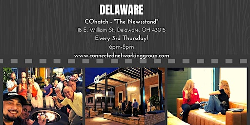 """CONNECTED - Delaware @ COHatch """"The Newsstand"""""""