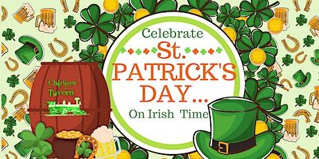 Celebrate St Patrick Day (on Irish Time) tickets