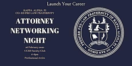 Kappa Alpha Pi Presents: Attorney Networking Night tickets