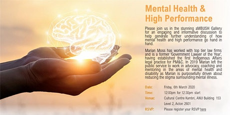 Mental Health & High Performance tickets