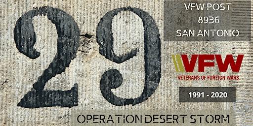 Operation Desert Storm Dinner & Dance