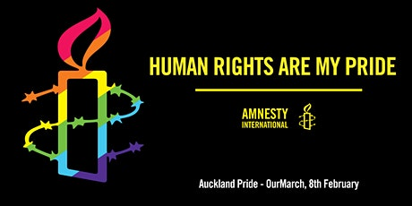 Come to Auckland Pride - Our March with Amnesty International tickets