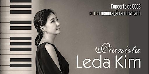 Concerto de Pianista Leda Kim na Sala do Conservatório