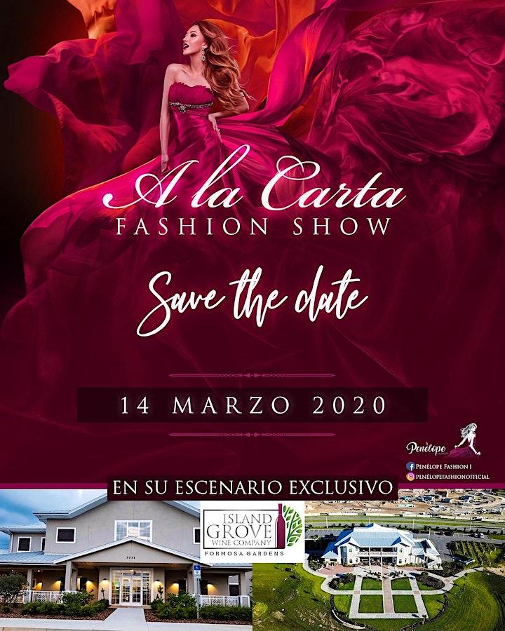 Imagen de A la Carta Fashion Show