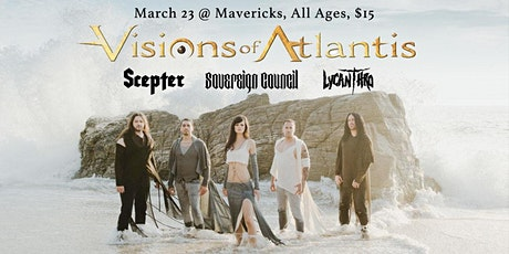 Visions of Atlantis, Sovereign Council, Scepter, Lycanthro tickets