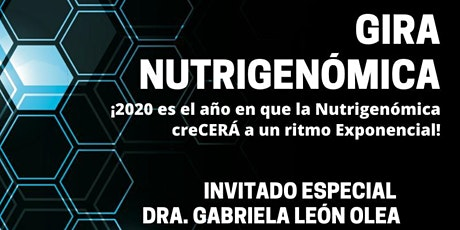 Gira Nutrigenómica tickets