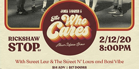 JAMES TAUGHER & THE WHO CARES (album release show) tickets