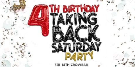Taking Back Saturday - 4TH BIRTHDAY PARTY tickets