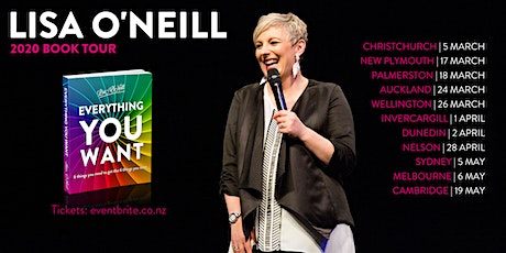 Lisa O'Neill Book Tour | New Plymouth | Everything You Want tickets
