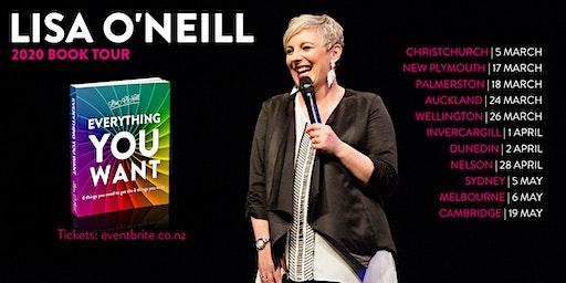 Lisa O'Neill Book Tour | Palmerston North | Everything You Want