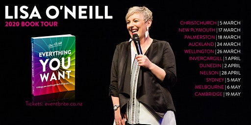 Lisa O'Neill Book Tour | Invercargill | Everything You Want